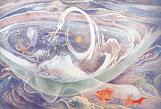 竹中英太郎「失われた海への挽歌」1975.jpg