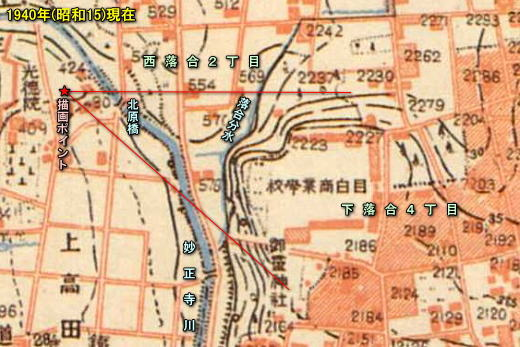 耳野アトリエ地形図1940.jpg