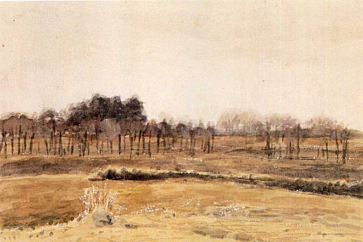 萬鉄五郎「戸山が原の冬」1905.jpg
