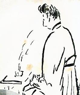 鎌田りよ「香を焚く平沢大暲」.jpg