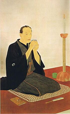 鏑木清方「三遊亭円朝像」1930.jpg