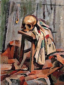髑髏のある静物1923_1.jpg