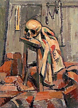 髑髏のある静物1923_2.jpg