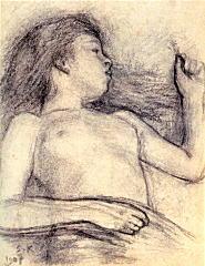 黒田清輝「野辺」(画稿)1907.jpg